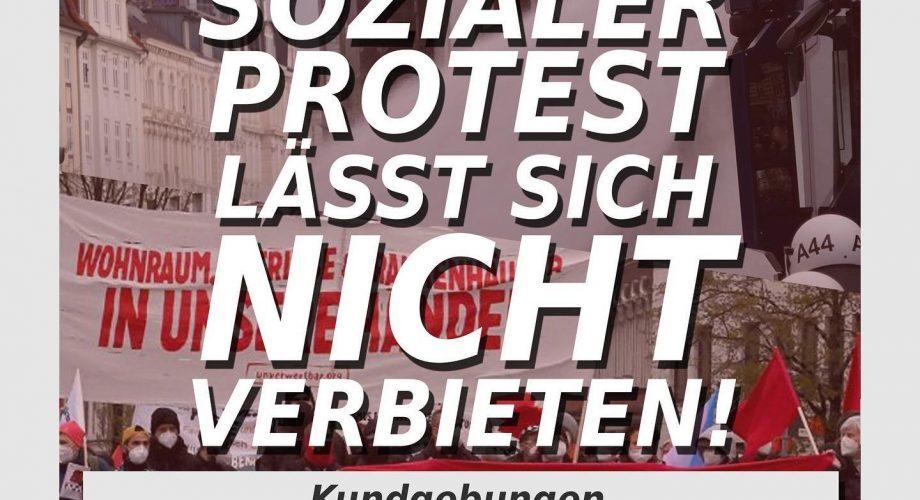 Sozialer Protest, Polizei, 1.Mai